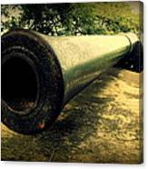 Elephanta Island Cannon Canvas Print