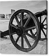 Cannons Canvas Print
