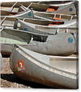 Canoes 143 Canvas Print