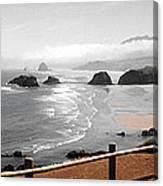 Canon Beach Canvas Print