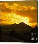 Canon City Sunset Canvas Print
