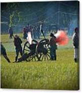 Canon Fire Reenactment Canvas Print
