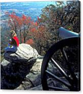 Canon On Lookout Mountain Canvas Print