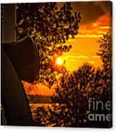 Canon Sunset Canvas Print