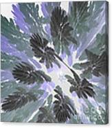 Daytime Jungle Sky By Jammer Canvas Print