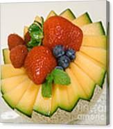 Cantaloupe Breakfast Canvas Print