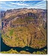 Canyon Bend Canvas Print