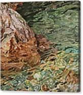 Canyon Clear Canvas Print