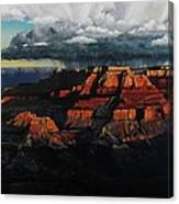 Canyon Colors Canvas Print