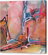 Canyon Dance 1 Canvas Print