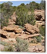 Canyon De Chelly - A Blend Of Cultures Canvas Print