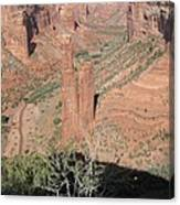 Canyon De Chelly Spider Rock Canvas Print