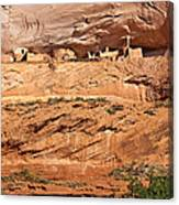 Canyon Dechelly Pueblo Ruins Canvas Print