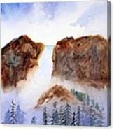 Canyon Falls Canvas Print