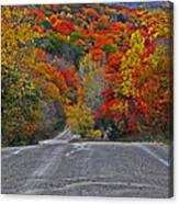 Canyon Hill Canvas Print