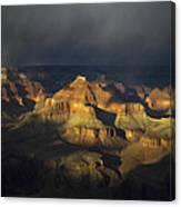 Canyon Light Canvas Print