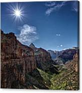 Canyon Overlook Canvas Print