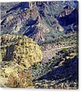Canyon Road Canvas Print