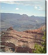 Canyon Rock Canvas Print