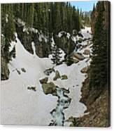 Canyon Scenery Canvas Print