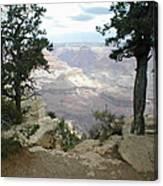 Canyon Side View Canvas Print
