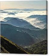 Canyon View Canvas Print