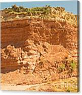 Canyonlands In West Texas Canvas Print