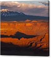 Canyonlands Light Canvas Print