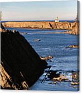 Cape Arago Lighthouse 2 Canvas Print