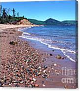Cape Breton Island Aspy Bay Canvas Print