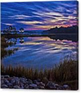 Cape Charles Sunrise Canvas Print