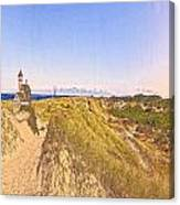 Cape Cod Americana -on Race Point Canvas Print