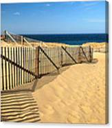 Cape Cod Beach Canvas Print