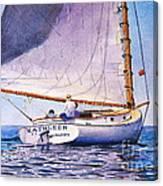 Cape Cod Catboat Canvas Print