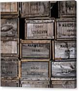 Cape Cod Cranberry Crates Canvas Print