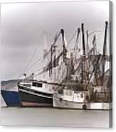 Cape Cod Fishing Boats Canvas Print
