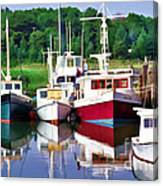 Cape Cod Harbor  Canvas Print
