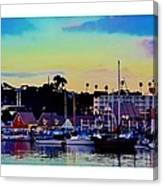 Cape Cod Harbor Canvas Print