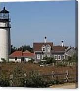 Cape Cod Light Canvas Print