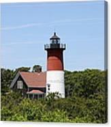Cape Cod - Nauset Lighthouse - Ma Canvas Print