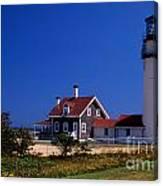 Cape Cod Or Highland Lighthouse Canvas Print