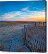 Cape Cod Sunset Canvas Print