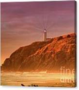 Cape Disappointment After The Storm Canvas Print