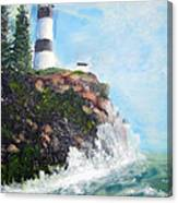 Cape Disappointment Lighthouse Canvas Print