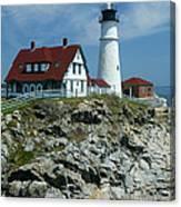 Cape Elizabeth Canvas Print