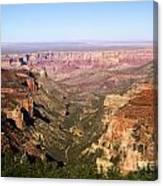 Cape Final Canyon View Canvas Print
