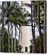 Cape Florida Historic Lighthouse Canvas Print