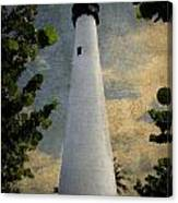 Cape Florida Lighthouse 1 Canvas Print