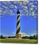 Cape Hatteras Light Canvas Print
