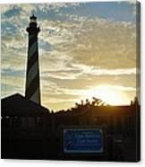 Cape Hatteras Lighthouse 1 11/05 Canvas Print